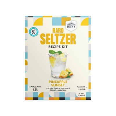 mj pineapple sunset hard seltzer kit