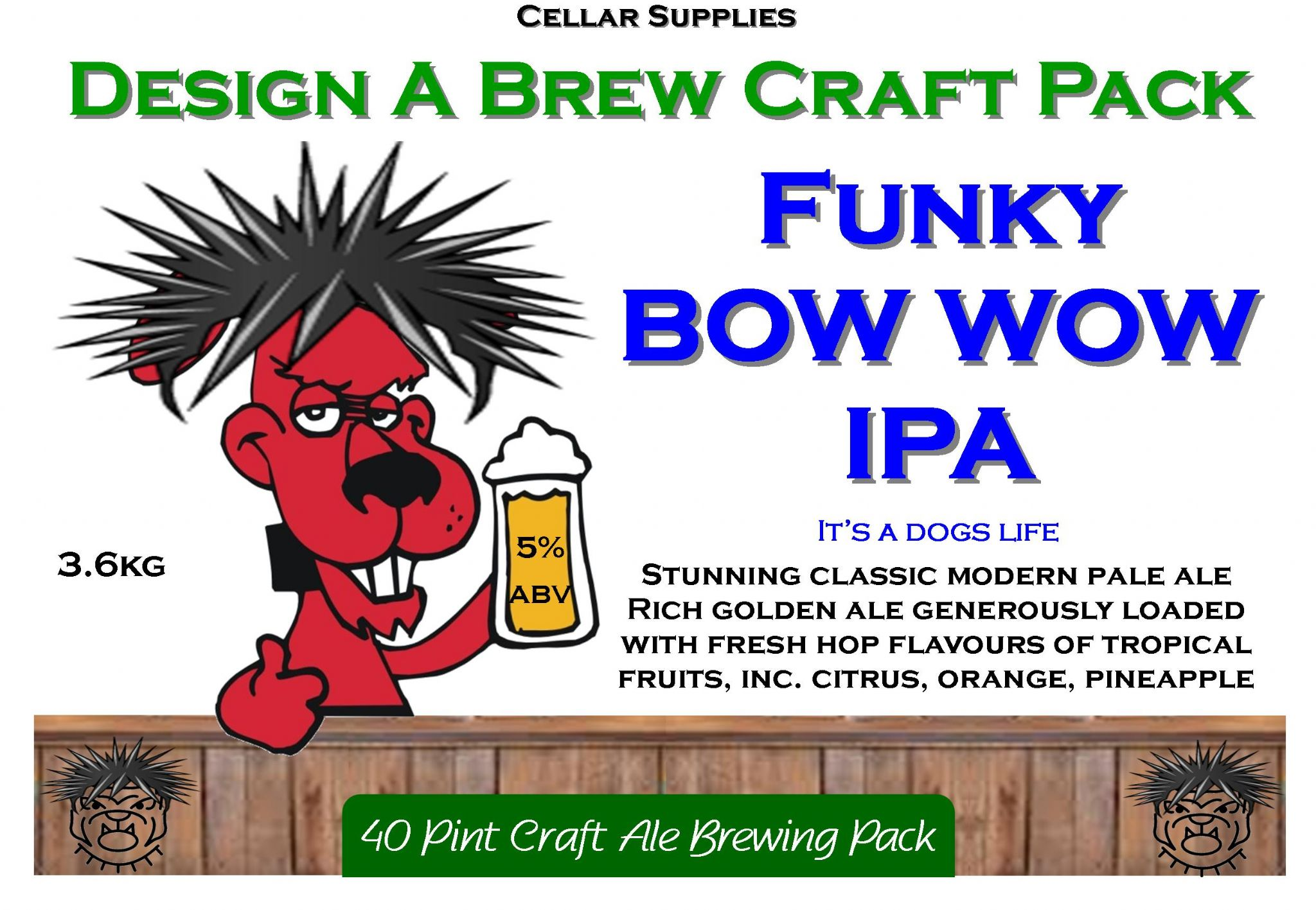 Design A Brew Craft Packs