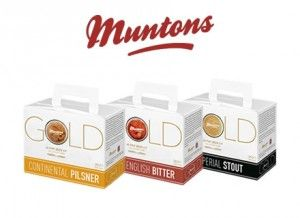 Muntons Gold Beer Kits