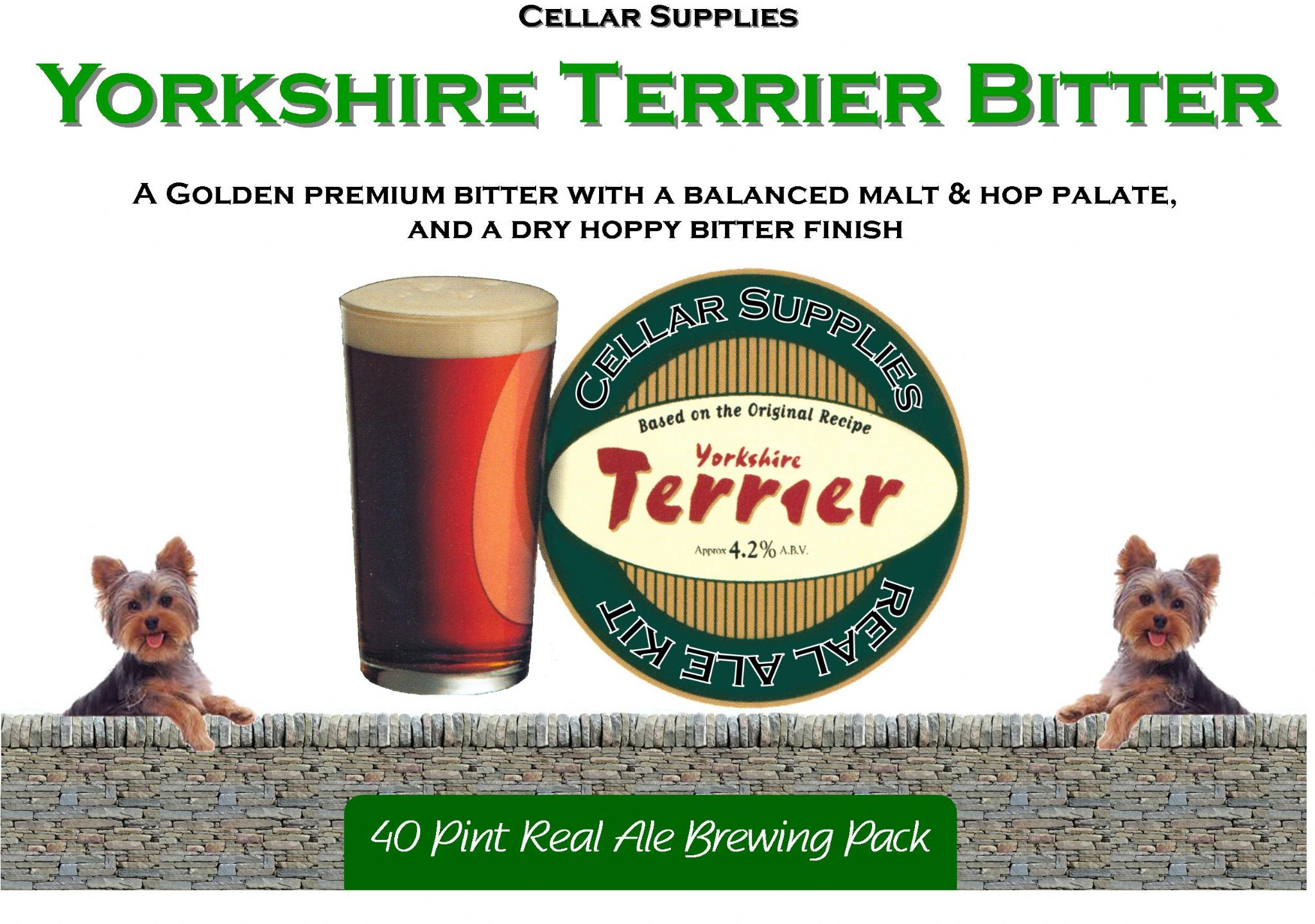 York Beer Brewing Packs